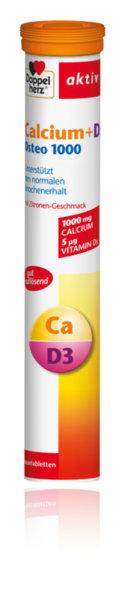 Допелхерц (Doppelherz) Калций + Витамин Д ОСТЕО еф.таблетки x15